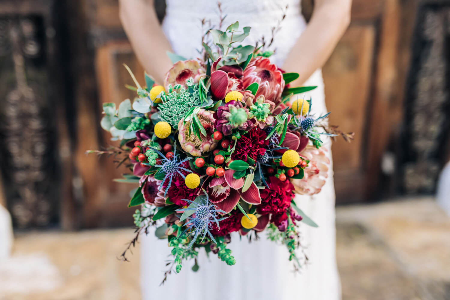 hunter valley wedding photographer bridal bouquet
