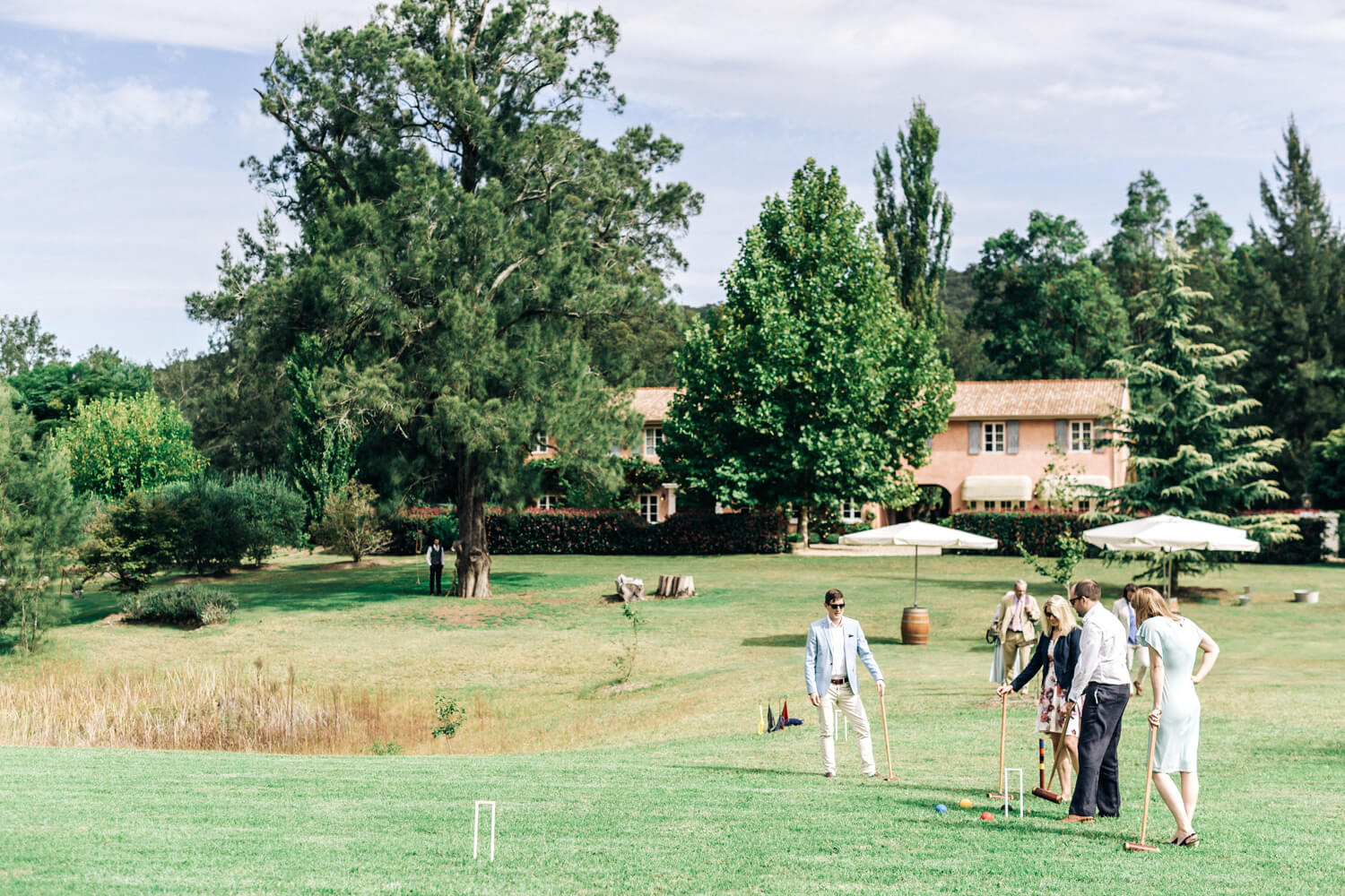 hunter valley wedding photographer wide shot of redleaf woollombi