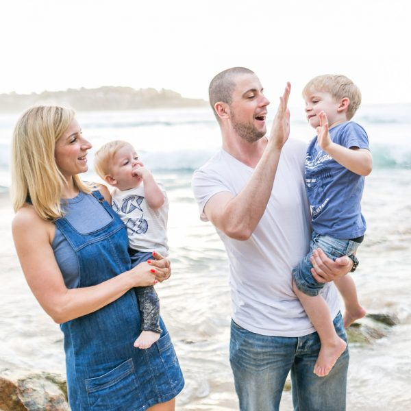 Gormley Family photos, Bondi Beach