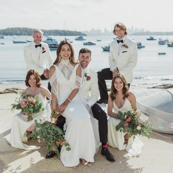 Watsons Bay Hotel Wedding, Jenna & Greg