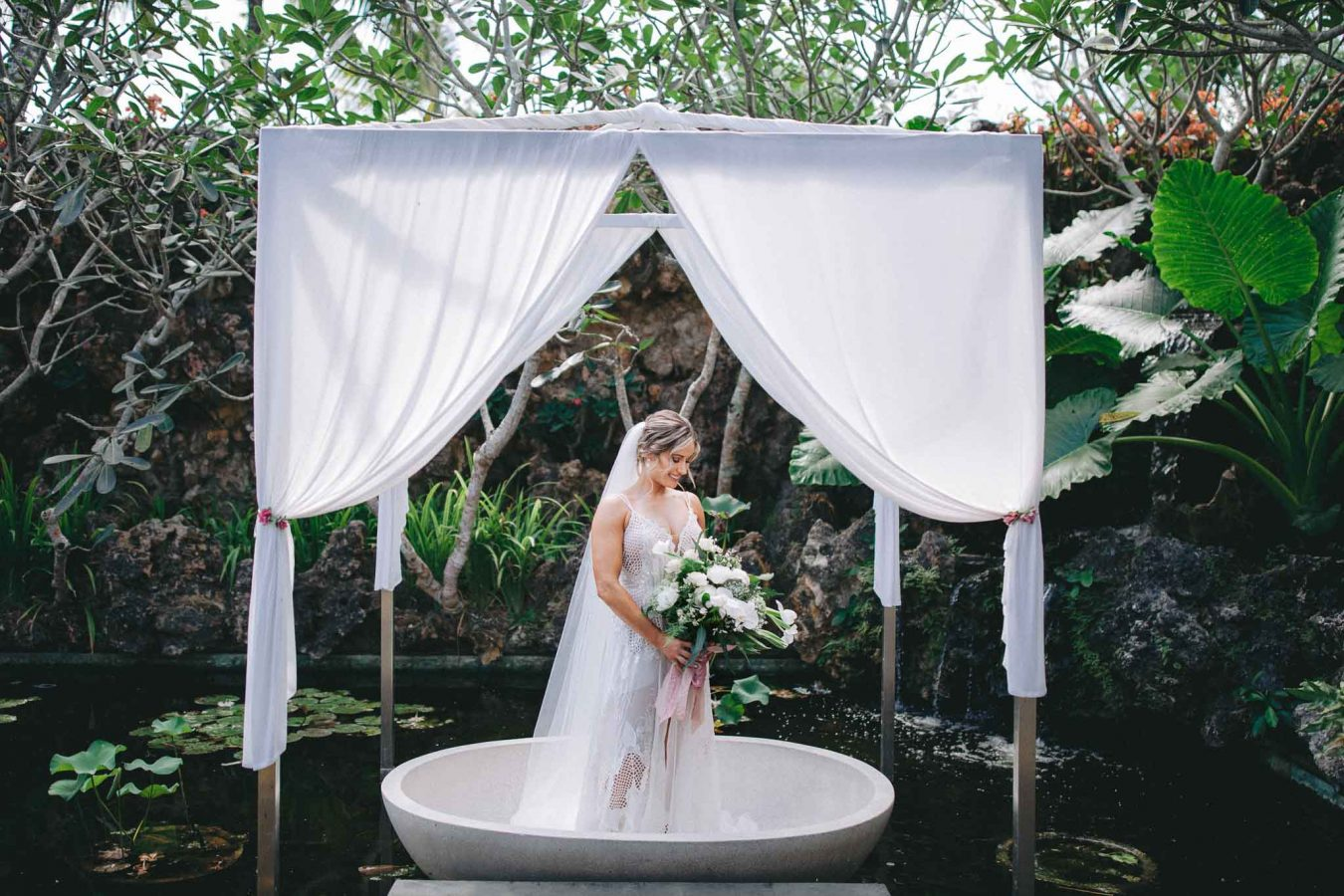 Khayangan Estate Bali Wedding Kat Rollings